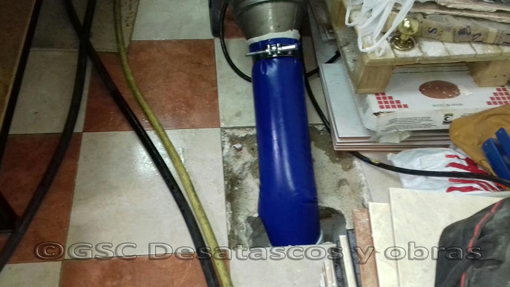 reparar una tubería sin abrir zanja