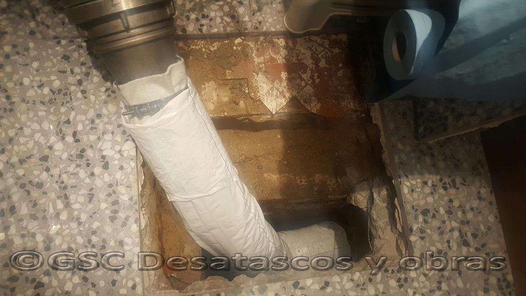 reparación tuberías sin obra