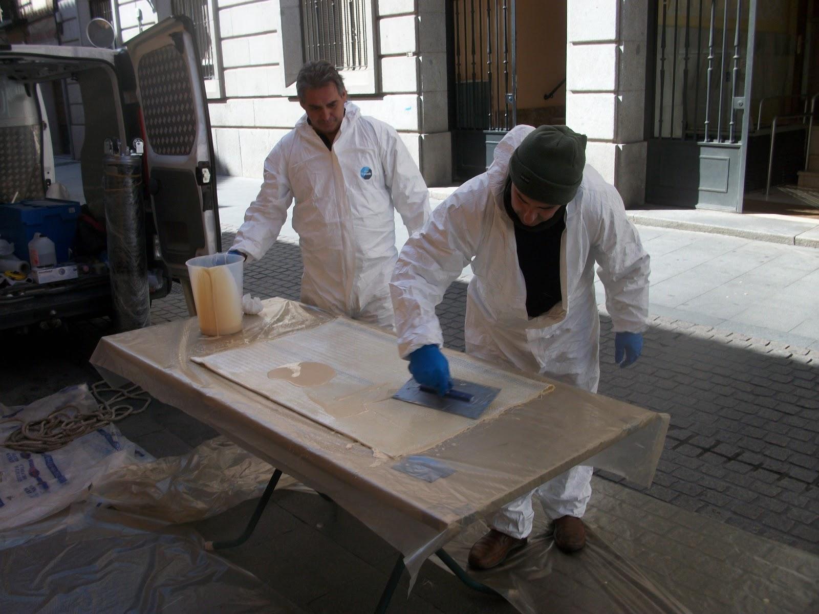 reparacion de tuberia sin obra - pakers