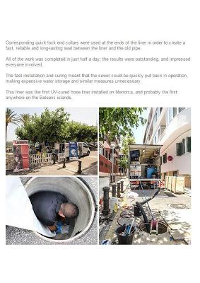 ¿Recuerdas la obra de pocería sin zanja de Menorca? Ha llegado a Alemania