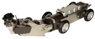 Nuestro robot fresador en acción