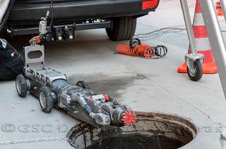 Robot fresador en tuberías, ¿para qué se utiliza?