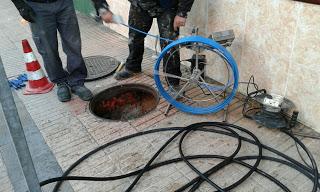 Comenzamos nueva rehabilitación de tubería sin zanja en Getafe
