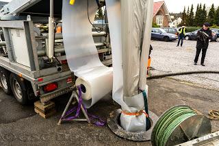 GSC asiste a una rehabilitación de tubería de grandes dimensiones en Alemania
