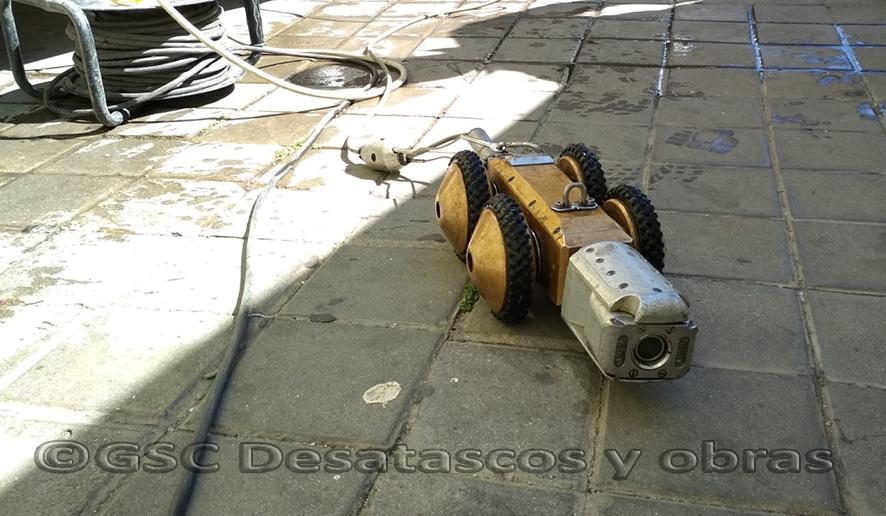 inspección tuberías con cámara CCTV