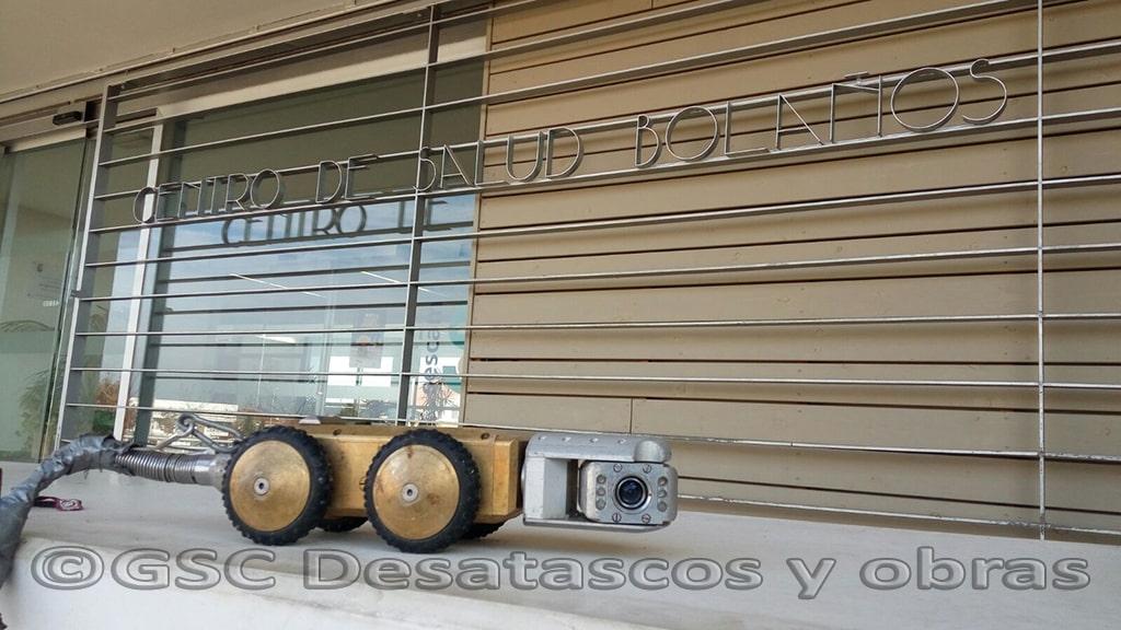 inspección con cámara CCTV