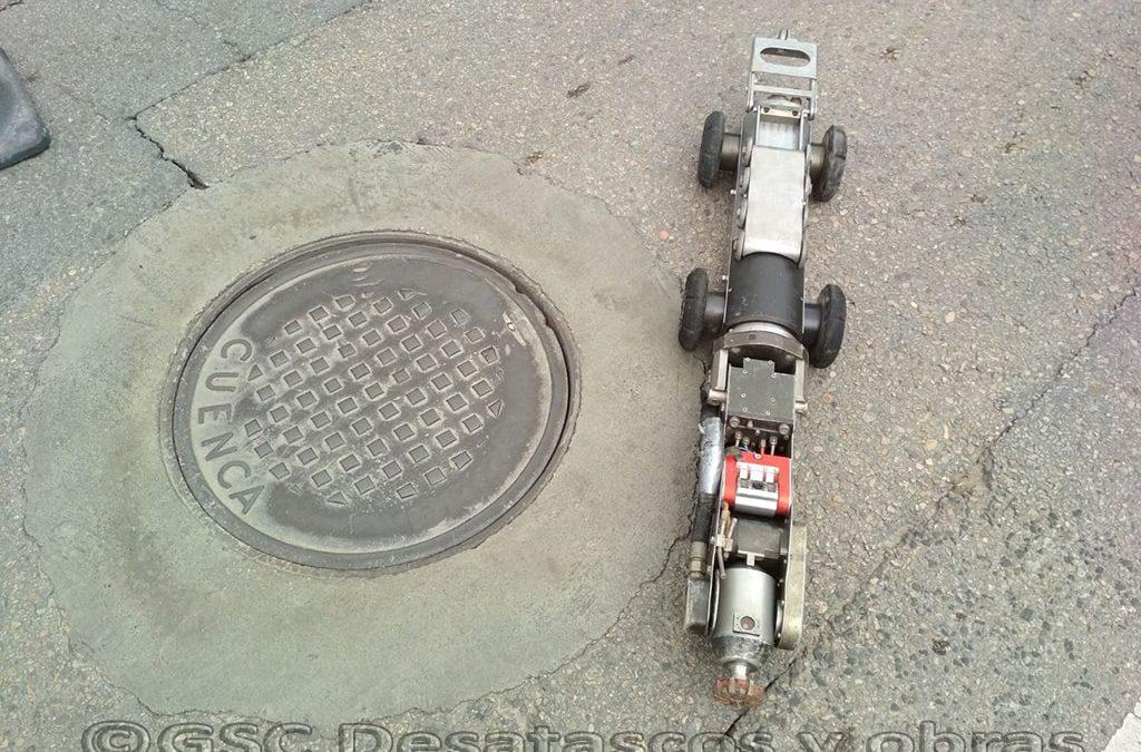robot fresador de tuberías