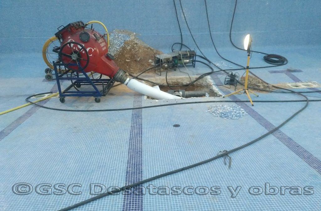 reparación de tuberías sin obra